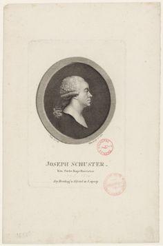 Joseph Schuster (1748-1812), engraving (1811), by Johann Christian Benjamin Gottschick (1776-1844), after a drawing (1796), by Friedrich Ludwig Vieth von Golßenau (1768-1848).