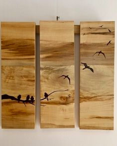 Wood Burning Crafts, Wood Burning Art, Acrylic Painting Flowers, Painting On Wood, Wooden Spice Rack, Driftwood Crafts, Wooden Art, Picture On Wood, Pyrography