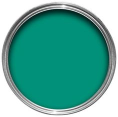 Colours Any Room & Surface One Coat Silk Paint Emerald 2.5L  bathroom