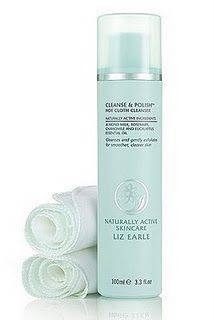 Liz Earle cleanse and polish hot cloth cleanser is one of the best I've ever used on my face - so good even for people with eczema