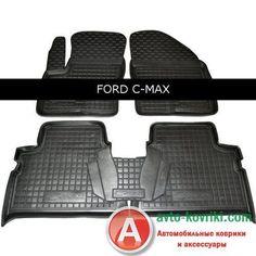 Автоковрики от Auto Gumm в салон для Ford C-Max 2005-10