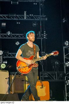 the black keys!