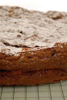 Torta de amaranto, quinoa y chocolate