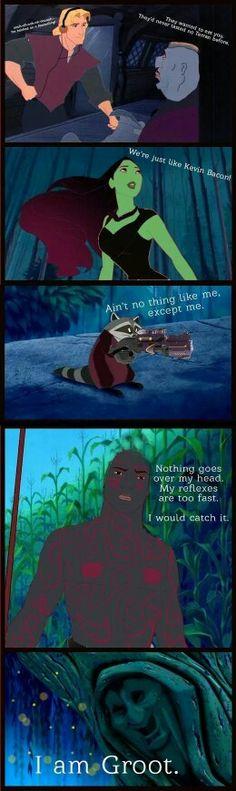 GOTG, Disney style! Lol.