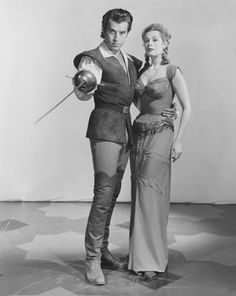 "Arlene Dahl & Fernando Lamas in "" The Diamond Queen"