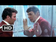 """""""The needs of the many outweigh the needs of the few..or the one""""  Spock gives his life to save the Enterprise"""