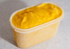 Eis-Rezept: Mango-Sorbet mit und ohne Eismaschine