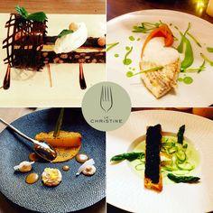 La nouvelle c'est samedi 9 avril ! Mais en attendant, on vous présente dèjà quelques assiettes... www.restaurantlechristine.com