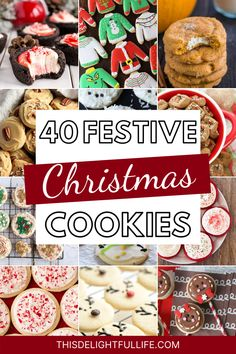 Make your holiday countdown even better with these festive Christmas cookies! Fire up your oven and start baking to spread some delicious holiday cheer! Best Christmas Recipes, Christmas Food Gifts, Xmas Recipes, Xmas Food, Christmas Sweets, Christmas Cooking, Christmas Goodies, Baking Recipes, Cookie Recipes