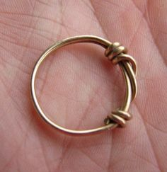 Barbed wire ring suitable for men or women..