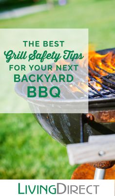 Before you fire up the grill, it is important to assess the safety of your situation. Click here for 3 grill safety tips that you should always follow.
