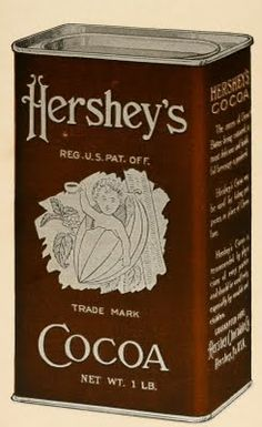 This is the Hershey's rich cocoa fudge recipe your grandmother used to make! The recipe first appeared on the Hershey's Cocoa Can label in the Hershey Chocolate, Chocolate Heaven, Chocolate Fudge, Chocolate Recipes, Hershey Cocoa Fudge, Chocolate Dreams, Vintage Tins, Vintage Kitchen, Weird Vintage