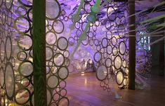 myThread Pavilion  Architectural designer Jenny Sabin's biologically-inspired installation launches Nike's Flyknit Collective in NYC