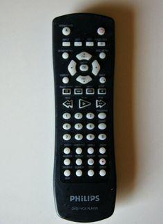 Phillips DVD/VCR Remote Control A114  #Philips Vcr Player, Dvd Vcr, Mark Price, Man Stuff, Remote, Electronics, Ebay, Men Stuff, Consumer Electronics