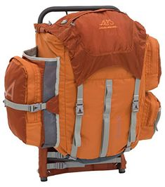 ALPS Mountaineering Red Rock 2050 Cubic Inches External Pack Rust    You  can find out 35657e641d17f