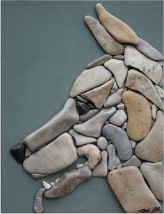 Decoracion Diy-Manualidades - Comunidad - Google+ Dog mosaic