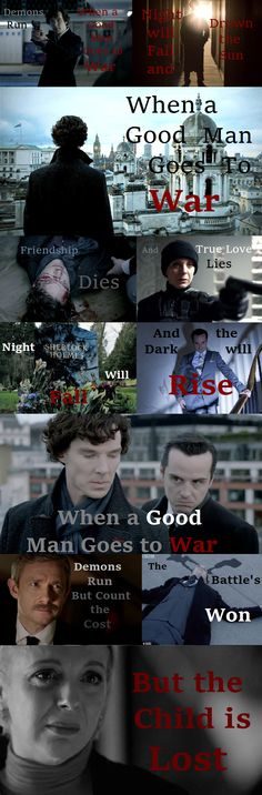"""""""when a Good Man Goes to War"""" Sherlock/Doctor Who mash up"""