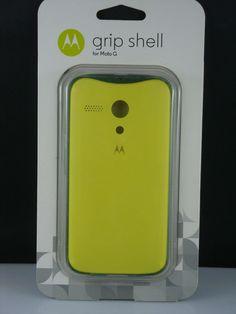 NEW -  GRIP SHELL cell phone case  for Moto G  Lemon-Lime #Motorola