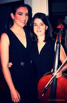 Lara y María en el#Concierto inaugural del Año España-Japón en el Teatro Real