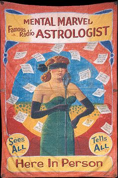 Mental Marvel — Famous Radio Astrologist