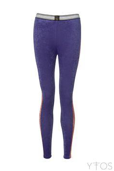 'Mila' Purple & Desert Print Leggings