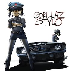 Mos Def and Bobby Womack), a song by Gorillaz, Mos Def, Bobby Womack on Spotify Gorillaz Band, Mos Def, Damon Albarn, Trip Hop, Tank Girl, Gorillaz Plastic Beach, Cyborg Noodle, Stylo Art, Visual Identity