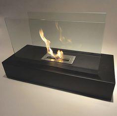 "31.49"" Fiamme Ethanol Floor Bio-Fireplace"