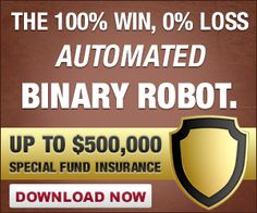 Binary Robot With 100% Wins and 0 Losses http://pornoblokkoloprogram.blogspot.hu/2014/08/best-automated-binary-options-software.html