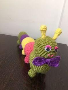 Ücretsiz Amigurumi Tarifleri, Amigurumi, Örgü, Tığ, İp, Tırtıldan Kelebeğe Amigurumi Crochet Eyes, Crochet Rope, Knit Crochet, Crochet Patterns Amigurumi, Amigurumi Doll, Crochet Dolls, Baby Gift Box, Crochet Squares, Stuffed Toys Patterns