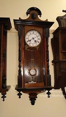 AntiqueWallclockKienzle1895WandUhrHorlogemuraleancienne