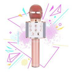 Karaoke Microphone for Girl, Toy Gift for Year Old Girls Singing Microphone for Kids Boys Music Toy for Year Old Kids Girl Party Gift Age Girl Rose Gold Mic Christmas Presents For 10 Year Olds, Birthday Presents For Girls, Birthday Gifts For Girls, Birthday Stuff, Christmas 2019, Birthday Ideas, Unique Gifts For Boys, Best Gifts For Girls, 10 Year Old Girl