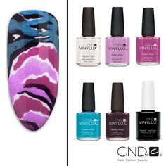 This gorgeous Garden Muse look entitled Painted Peonies was created with CND® VINYLUX® Weekly Polish! Nail Pros can check out the how-to on our website cnd.com!