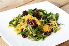 Raw Butternut Squash and Kale Salad - Gluten-free + Vegan
