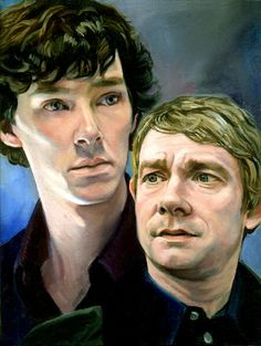 I'M A HUUUGE FAN OF SHERLOCK AND THIS IS FREAKING PERFEECT! I have no idea how you were able to capture them so perfectly, but kudos to you, my friend!