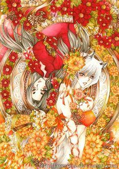 Hot Anime Illustrations by Nina Listyani
