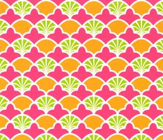 Patty Young Premium Cotton Fabric- French Scallop PinkPatty Young Premium Cotton Fabric- French Scallop Pink,