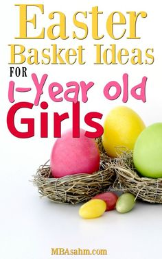 25 easter basket ideas for 1 2 year olds worldmarkettribe these easter basket ideas for 1 year old girls are sure to please your little negle Gallery