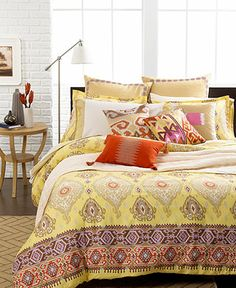 Echo Bedding, Colorful Kilim Comforter and Duvet Cover Sets - Duvet Covers - Bed & Bath - Macy's