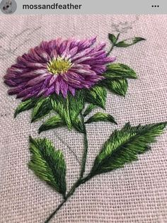 Wonderful Ribbon Embroidery Flowers by Hand Ideas. Enchanting Ribbon Embroidery Flowers by Hand Ideas. Hand Embroidery Flowers, Flower Embroidery Designs, Embroidery Patterns Free, Silk Ribbon Embroidery, Brazilian Embroidery Stitches, Hand Embroidery Stitches, Crewel Embroidery, Embroidery Needles, Embroidery Supplies