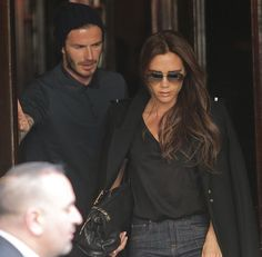Celebrity Look of the Day: David Beckham Romantic Lunch in Paris