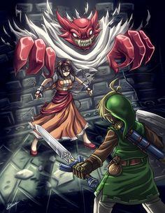 Zelda - Blind the Thief by *Karosu-Maker on deviantART
