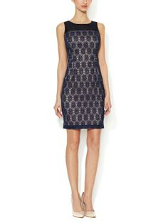 this navy lace sheath dress and more chic office looks on @Gilt.com today