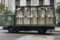 Banksy - The Sirens of the Lambs. In New York, USA