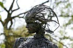 sculpture de jardin - Recherche Google Recherche Google, Sculptures, Hair Styles, Beauty, Gardens, Hair Plait Styles, Hairdos, Sculpture, Hair Looks