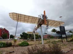Canary Islands Spotting....Spotters..Aviones : Homenaje a Leoncio Garnier, el primero que voló en...