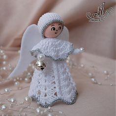 Anjelik s filcovými krídlami