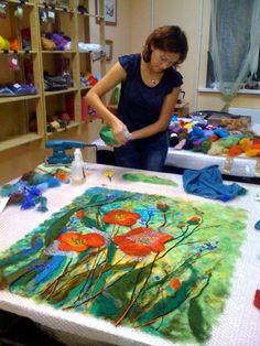 Kece Tablo #felt #textile #art