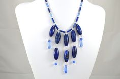 Electric Blue Lapis... Browse more handmade jewelry at http://www.QuirkyGirlz.com