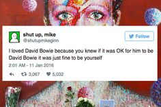 The Most Moving Tweets Honoring The Life Of David Bowie /This is the only uncool thing David Bowie has ever done./