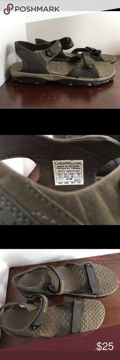 Men's Columbia Riptide adjustable Velcro sandals Excellent condition very little wear.  Men's size 13 Columbia Shoes Sandals & Flip-Flops